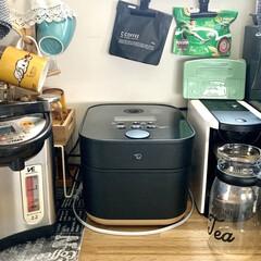 キッチン家電/キッチン/ブラック/炊飯器/スタン/象印/... 我が家のお気に入り家電は、 象印のスタン…(1枚目)
