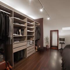 nankaiplywood/南海プライウッド/収納生活/収納/建材/内装材/... 深い眠りにつきたいベッドルームには、安堵…