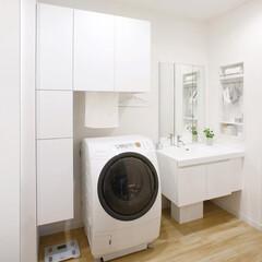 ラクリア/バスケット/扉/効率/動線/洗濯/... こちらは洗濯時の作業効率を考えて設計され…