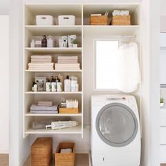 ラクエル/インテリア/オープン収納/ストック/かご/洗剤/... こちらの収納は、高さを自由に変えることが…