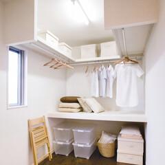 中段セットCシリーズ/枕棚セット楕円パイプ付/シンプル/服/衣類/ハンガーパイプ/... 棚板とハンガーパイプのみのシンプルなウォ…