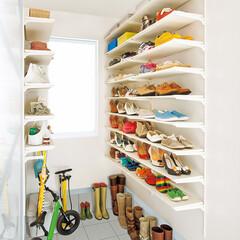 nankaiplywood/南海プライウッド/収納生活/収納/建材/内装材/... .玄関の収納スペースを充分確保できないと…