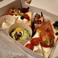 シャトレーゼ/ケーキ/年末/家族/お誕生日会/フォロー大歓迎/... 年末に家族みんなで集まって、少し早いけど…