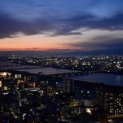 夜景/デート/冬/LIMIAおでかけ部/フォロー大歓迎/おでかけ/... 梅田にある空中庭園で見た夜景がとても素敵…