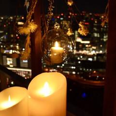 キャンドルナイト/空中庭園/梅田/LIMIAおでかけ部/フォロー大歓迎/おでかけ/... 空中庭園のバレンタイン期間限定のキャンド…