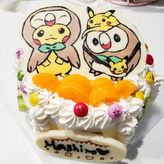 ポケモン/バースデーケーキ/キャラチョコ/グルメ/フード/スイーツ/... 昨日は息子の8歳の誕生日 毎年恒例キャラ…