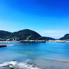 海辺/田舎/フォロー大歓迎/風景 私の故郷の海辺 毎日見ていた海 たまに写…