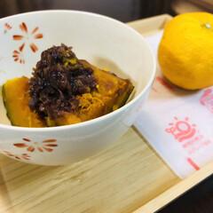季節イベント/ゆず湯/冬至 昨日は冬至かぼちゃ食べました🎃 デパ地下…(1枚目)