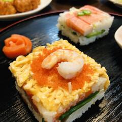 これからもずっと一緒/押し寿司/おうちごはん/ダイソー/誕生日ケーキ/ダイソーアイテム/... 昨日は旦那の55歳のバースデー🎂  甘い…