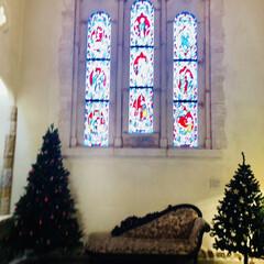 クリスマスツリー集めてみた/那須旅行/クリスマス/クリスマスツリー クリスマスツリー🎄🎅🎁🎄  那須ステンド…(3枚目)