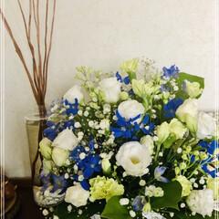 いつまでも大切な人/命日/花 可愛いお花が届きました😊 いつも今日の日…