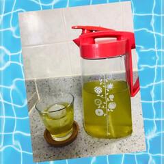 夏の定番/水出し緑茶/おすすめアイテム/フォロー大歓迎/節約/夏のお気に入り 夏のお気に入り♡♡♡  旦那さんの作る水…