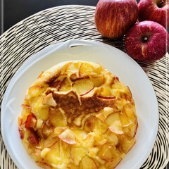 甘いもの好き/ぐっち夫婦レシピ/簡単レシピ/りんごのケーキ ぐっち夫婦のフライパンで簡単レシピ📖 「…(2枚目)