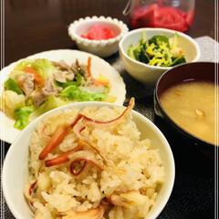 デザート大好き/ホッキ飯/夕飯 ホッキ飯🍚作りました🤗 お買得なホッキ貝…