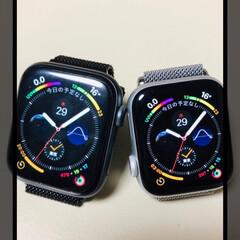 Apple Watch/おすすめアイテム/わたしのお気に入り 毎日に欠かせないもの⌚️ 旦那とお揃い💖…