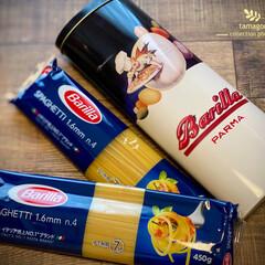 限定缶/アンティーク缶/バリラパスタ缶 バリラパスタ・限定缶  可愛らしいバリラ…