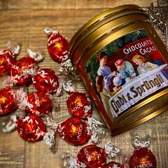 リンドール・ノスタルジック缶 144g | リンツ(トリュフ、ボンボン)を使ったクチコミ「リンツ・チョコレート (リンドール・ノス…」