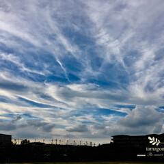 雲の写真/おでかけ/LIMIAおでかけ部/おでかけワンショット/空の写真/奈良県上空 雲の多い空  今日は少し暑かったです 秋…