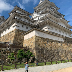 姫路城/お出かけワンショット/おでかけワンショット お城好きの相方について 姫路城に行きまし…(1枚目)