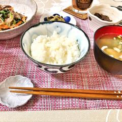 delicious/Breakfast/朝ごはん/ごちそうさま/いつもありがとう/箸置き/... 今朝の嫁さんが作ってくれた朝ごはん。牛肉…(5枚目)