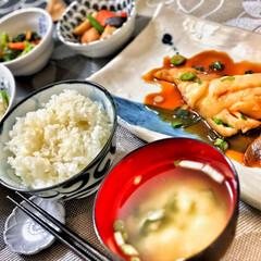 美味しいご飯/いつもありがとう/おはよう/朝ごはん大好き/嫁さんの手作り/ごちそうさまでした/... 今朝の嫁さんが作ってくれた朝ごはん。鱈の…(2枚目)