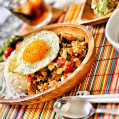 桜/朝ごはん/ごちそうさまでした/いつもありがとう/朝ごはん大好き/美味しいご飯/... 今朝の嫁さんが作ってくれた朝ごはん。メイ…(2枚目)