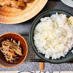 キッチン/これからもよろしく/いつもありがとう/ごちそうさまでした/美味しいご飯/朝ごはん大好き/... 今朝の嫁さんが作ってくれた朝ごはん。鶏手…(6枚目)