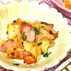 コーンスープ/ドライカレー/箸置き/いつもありがとう/ごちそうさま/朝ごはん/... 嫁さんが作ってくれた朝ごはん。ドライカレ…(5枚目)