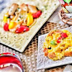 おはよう/いつもありがとう/ごちそうさまでした/嫁さんの手作り/朝ごはん大好き/美味しいご飯/... 今朝の嫁さんが作ってくれた朝ごはん。メイ…(2枚目)