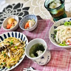 朝食/朝ごはん/おうちごはん/和食器/嫁さんの手作り/フォロー大歓迎/...