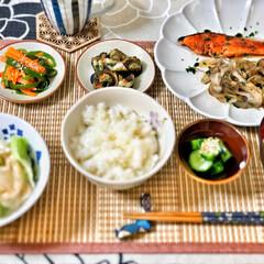 これからもよろしく/朝ごはん大好き/朝ごはん/ごちそうさまでした/いつもありがとう/美味しいご飯/... 今朝の嫁さんが作ってくれた朝ごはん。鮭の…