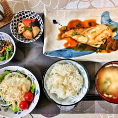 美味しいご飯/いつもありがとう/おはよう/朝ごはん大好き/嫁さんの手作り/ごちそうさまでした/... 今朝の嫁さんが作ってくれた朝ごはん。鱈の…(7枚目)