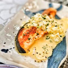 いつもありがとう/ごちそうさまでした/美味しいご飯/朝ごはん大好き/朝ごはん/これからもよろしく/... 今朝の嫁さんが作ってくれた朝ごはん。鮭の…