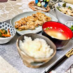 美味しいご飯/桜/朝ごはん大好き/いつもありがとう/ごちそうさまでした/朝ごはん/... 今朝の嫁さんが作ってくれた朝ごはん。鳥手…(2枚目)