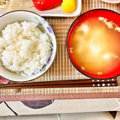 朝ごはん/朝ごはん大好き/美味しいご飯/ごちそうさまでした/キッチン/いつもありがとう/... 今朝の嫁さんが作ってくれた朝ごはん。鮭の…(6枚目)