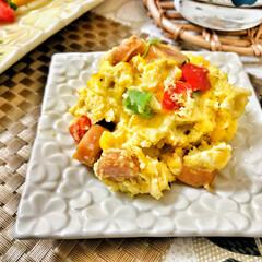 おはよう/いつもありがとう/ごちそうさまでした/嫁さんの手作り/朝ごはん大好き/美味しいご飯/... 今朝の嫁さんが作ってくれた朝ごはん。メイ…(6枚目)
