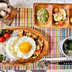 桜/朝ごはん/ごちそうさまでした/いつもありがとう/朝ごはん大好き/美味しいご飯/... 今朝の嫁さんが作ってくれた朝ごはん。メイ…(7枚目)