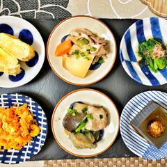 朝ごはん/朝ごはん大好き/美味しいご飯/ごちそうさまでした/これからもよろしく/令和元年フォト投稿キャンペーン/... 嫁さんが作ってくれた父の日御膳。昨日は父…(4枚目)