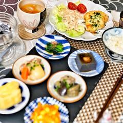 朝ごはん/朝ごはん大好き/美味しいご飯/ごちそうさまでした/これからもよろしく/令和元年フォト投稿キャンペーン/... 嫁さんが作ってくれた父の日御膳。昨日は父…(3枚目)