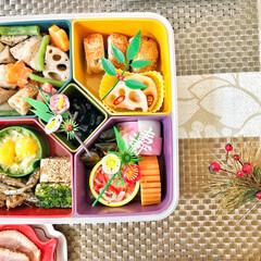 おせち料理/箸置き/いつもありがとう/ごちそうさま/朝ごはん/Breakfast/... 嫁さんが作ってくれたおせち朝ごはん。毎年…(2枚目)