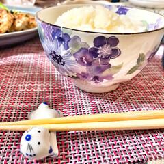 朝ごはん/ごちそうさま/いつもありがとう/箸置き/味噌マスタードチキン/恵方巻き/... 嫁さんが作ってくれた朝ごはん。味噌マスタ…(5枚目)