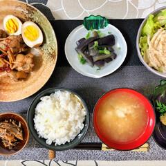 キッチン/これからもよろしく/いつもありがとう/ごちそうさまでした/美味しいご飯/朝ごはん大好き/... 今朝の嫁さんが作ってくれた朝ごはん。鶏手…(7枚目)