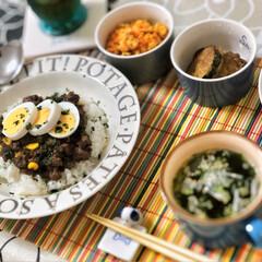 朝ごはん/これからもよろしく/ごちそうさまでした/美味しいご飯/朝ごはん大好き/いつもありがとう/... 今朝の嫁さんが作ってくれた朝ごはん。メイ…(2枚目)