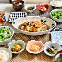和食器/嫁さんの手作り/おうちごはん/わたしのごはん/おうちごはんクラブ/グルメ/... 嫁さんが作ってくれた昼ごはん