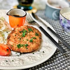 嫁さんの手作り/おはよう/いつもありがとう/ごちそうさまでした/美味しいご飯/朝ごはん大好き/... 今朝の嫁さんが作ってくれた朝ごはん。メイ…(2枚目)