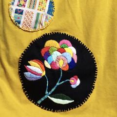 初めての刺繍
