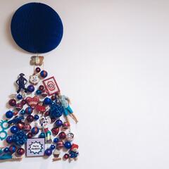 オーナメント/クリスマスオーナメント/ブルー/バービー/壁/フランフラン/... 青いツリーがいいと言われて