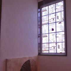 窓/ガラス/フィルム/夏/日差し/雰囲気/... 窓にフィルムをはってみました。  夏の日…