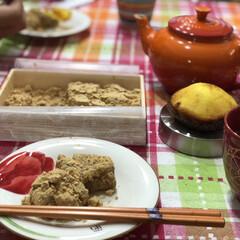 ルクルーゼ/イッタラ/食器/カトラリー/キッチン雑貨/食卓/... まずは今日のおやつ😋 とろっとろで美味し…(2枚目)