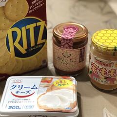 クリームチーズ/RITZ/蜜桃/いちごバター/ライフスタイル/暮らし/... 平日は仕事だし〜なかなかKALDI行けな…(1枚目)